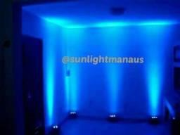 Locacao refletor par led iluminação cênica