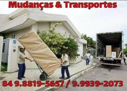 Mudanças & transportes 84 98819-5657 . 99939-2073 aceitamos cartão de crédito