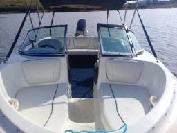 Lancha Bay Boat 16 pés Muito Nova_Uso Particular - 2007