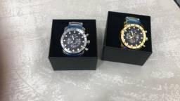 Lindos relógios todos as marcas (Invicta, G-Shock, Bvlgari.)