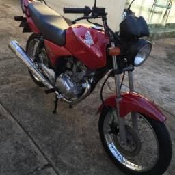 Honda Cg 150 ESD 2005 vermelha - 2005