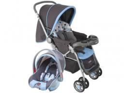 Carrinho de Bebê e Berço Passeio Cosco Travel - System Reverse p/ Crianças até 15kg Novo