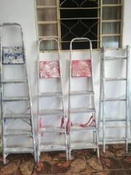 4 escadas para trabalhar na construção