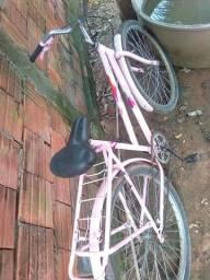 Bicicleta so falta enche os pneus e anda