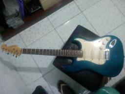 V/T em violão elétrico nylon