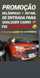 Showroom DE FACILIDADES!! R$1MIL DE ENTRADA(ECOSPORT 1.6 FREESTYLE 2014)