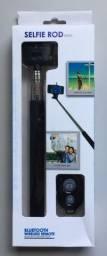 Título do anúncio: Bastão Selfie (Pau de Selfie) Selfie Rod Controle Remoto Bluetooth Wireless Novo na Caixa