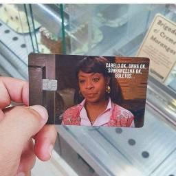 Película protetora de cartão de crédito (novo)