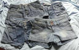 4 shorts 20 reais