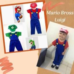 Fantasia Mario Bross e outras