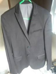 Terno/Blazer Slim Nº 46 Semi-novo