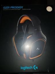 Headset gamer prodigy g231