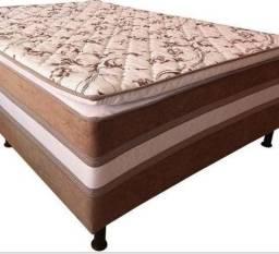 Promoção - ColchãoBox Casal Cama Box com Pillow - Apenas R$599,00