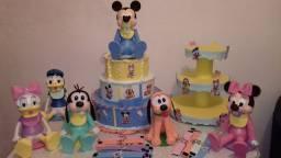 Kit decoração de mesa Baby Disney em Eva 3D