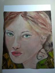 Tela: Beatrice - Pintura Óleo