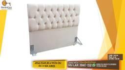 Preço de Fábrica - Cabeceira Casal Capitonê -Painel -Baú