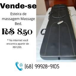 Esteira de massagem relaxante.