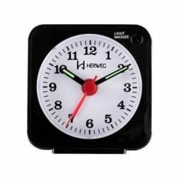 Título do anúncio: Relógio com despertador de 10cm
