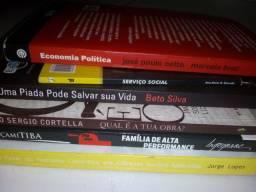 Livros diversos( de R$2 a 20)