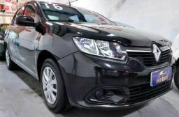 Renault Logan Exp. 1.0 2016 Completo + Media Nav