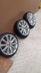 Rodas 17 com pneu 185 35