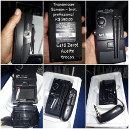 Transmissor Samson(profissional) R$ 850,00.
