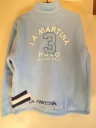 Blusa de Frio Unissex Azul Claro - La Martina - Original