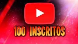 100 INCRITOS REIAS PARA SEU CANAL DO YOUTUBE