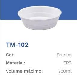 Título do anúncio: marmitex de isopor 102/r2