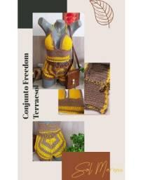Conjunto em Crochet