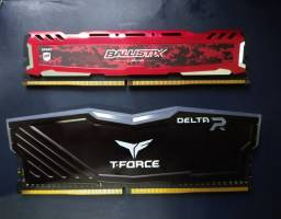 Título do anúncio: Memória PC DDR4 8GB
