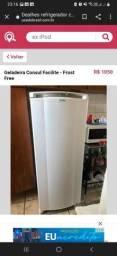 Título do anúncio: Geladeira frost free 110 ac cartão