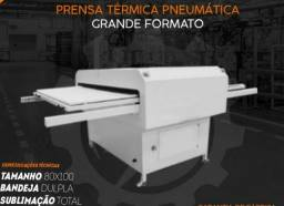 Prensa térmica pneumática 900x110 ( sob encomenda)