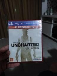 Título do anúncio: 2 Jogos do PS4 '' Uncharted e Battlefield 4