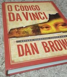 Livro O Código Da Vince - Capa Dura