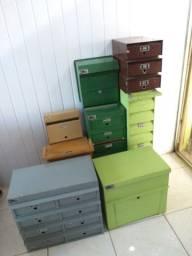 Caixas de correspondência predial.