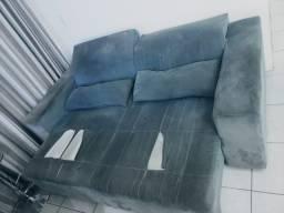 Título do anúncio: Sofá Retrátil dois lugares cinza