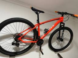 Bike super nova! Volto a diferença em moto de trilha