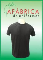 Título do anúncio: Camiseta Preta Lisa Para Personalizar/Estampa/Bordado/Uniforme