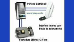 Título do anúncio: Fechadura e Porteiro Eletrônicos ( instalamos e Fazemos Manutenção)