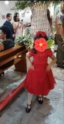 Vestido de festa infantil novíssimo