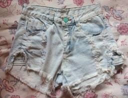 Título do anúncio: Short Jeans cintura média - Brechó