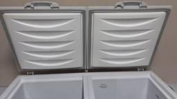 Freezer gelopar semi novo