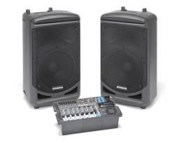 Sistema de som PA Samson xp1000