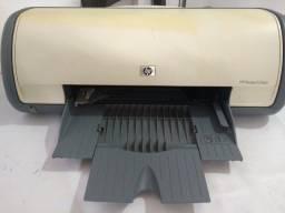 Impressora Deskjet D1560 com cartuchos usados