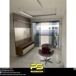 Apartamento com 3 dormitórios à venda, 77 m² por R$ 380.000 - Portal do Sol - João Pessoa/