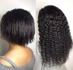 Título do anúncio: Vendo cabelo humano cacheado