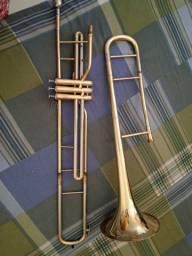 Trombone de pisto em síb