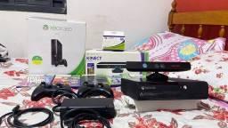 Título do anúncio: Xbox 360 + 5 jogos