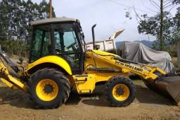 Retroescavadeira New Holland b95b 2014